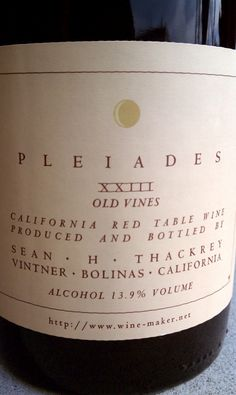 We usually have some local favorites on hand, like this one from a noted maker in Bolinas. Documentary Film, Wines, Documentaries, Bubbles, Alcohol, Bottle, Rubbing Alcohol, Flask, Liquor