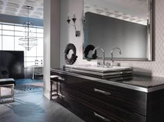 Elegant bathroom collection featuring contemporary luxury