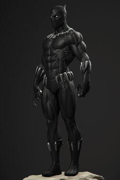 Black Panther Symbol, Black Panther Storm, Black Panther 2018, Black Panther Marvel, Marvel Comics Art, Marvel Vs, Black Pantha, Marvel Statues, African American Artist