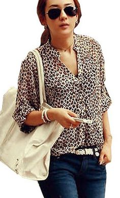 Amazon: Chiffon Leopard Print Blouse – as low as $5.02! See item ---> http://www.discountqueens.com/swimming-with-little-ones-this-summer-dont-forget-the-pampers-splashers/