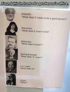 Philosophy has been losing its essence…