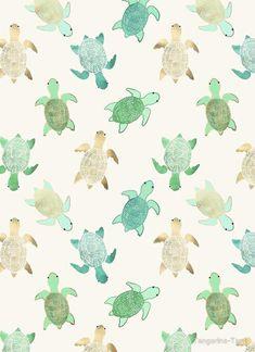 Home Wallpaper Iphone Backgrounds Art Prints 37 Ideas Wallpaper For Your Phone, Home Wallpaper, Summer Wallpaper, Green Wallpaper, Trendy Wallpaper, Cool Backgrounds, Wallpaper Backgrounds, Iphone Backgrounds, Sea Turtle Wallpaper