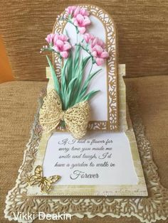 Fancy Fold Cards, Folded Cards, Tattered Lace Cards, Easel Cards, Die Cut Cards, Bird Cards, Creative Cards, Making Ideas, Decoupage