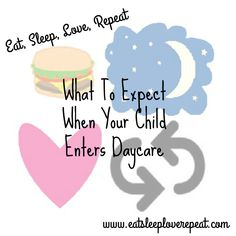 Are you putting your child into daycare for the first time?  This blog post explains what to expect when you are putting your child into daycare from a daycare teacher.