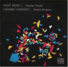 Crumb Night Music I Soprano Piano Perscussion Erickson Chamber Concerto