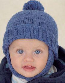 Vauvojen hattuja