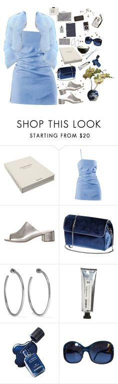 """""""Snowflake"""" by lsaroskyl ❤ liked on Polyvore featuring Assouline Publishing, Topshop, Jennifer Fisher, L:A Bruket and Prada"""