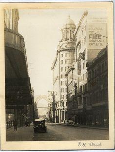 'Pitt Street' - RAHS/Osborne Collection