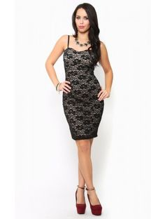 Hollywood Lace Dress