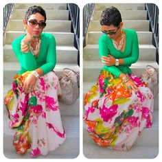 mimi g.: DIY Maxi + DIY Wrap Top: Girl You Be Killin Em'