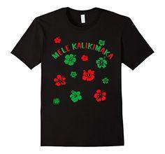 Hawaiian Christmas T-shirt by Scarebaby  http://amzn.to/2g0eaRj  #melekalikimaka #hawaiianshirt #hawaii