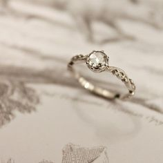 Love simple wedding rings like this. Not too flashy but still stunning