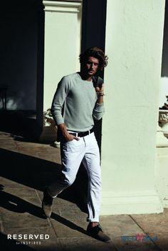 Męska kolekcja Reserved - wiosna-lato 2014 #fashion #men #moda #polkipl #panowie