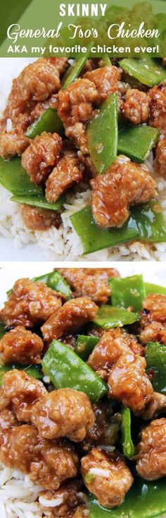 BAKED AND NOT FRIED! Sweet caramel sauce balanced by Asian chili sauce and zingy ginger, all infused with garlic and toasted sesame seed oil. MY FAVORITE CHINESE CHICKEN EVER!   Carlsbad Cravings