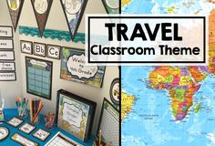 Are you looking for travel ideas for your classroom decor? Then you've come to the right place! This board will help you find inspiration and ideas that you can use right away!