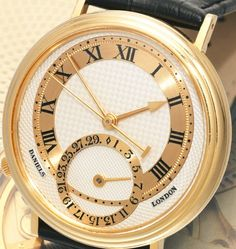 Daniels London Gold Wristwatch