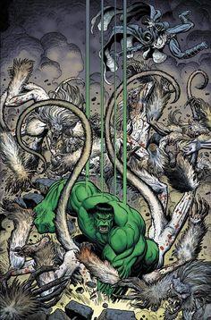 The Hulk by Arthur Adams