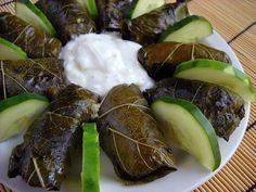 Dolmas, or stuffed grape leaves, are a tasty Greek treat. Now you can make your own with just a few ingredients and these simple instructions.