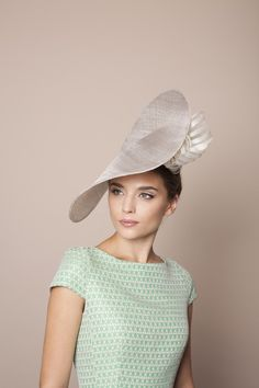 Gina Foster | Amalfi | Grey and Wide Brim Hats | LOVEHATS.COM