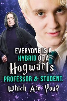Everyone Is A Hybrid Of A Hogwarts Professor & Student. Which Are You? Harry Potter Quiz: This Potter test will show which hybrid of characters you really are from the Harry Potter universe! Which professor and student are you? Harry Potter Quiz, Harry Potter Hermione, Harry Potter Universal, Harry Potter Characters, Ginny Weasley, Draco Malfoy, Hogwarts Professoren, Slytherin, Harry Potter Drawings Easy