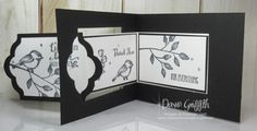 Lots of Labels Z Fold card video - Dawn's Stamping Thoughts