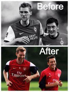 Mertesacker & Özil