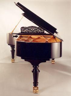 Stunning piano!  http://adjustablepianobench.net