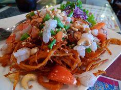 Jitlada's Crispy Papaya Salad by MyLastBite, via Flickr
