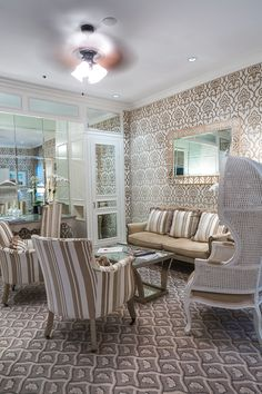 Total glam and luxury await guests at the Chesterfield Palm Beach