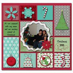 Christmas scrapbook #Scrapbook| http://scrapbook-photos-960.blogspot.com