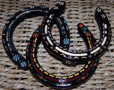 how to paint horse shoes - Google Search