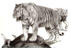 The Pleistocene Giant Tiger by Jagroar on DeviantArt