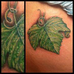 Leaf Tattoo Leaf Tattoos, I Tattoo, Fish Tattoos, Tattoo Inspiration, Tattoo Ideas, Concept, Ink, Artwork, Hair