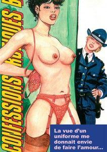 Bande dessinée porno vintage