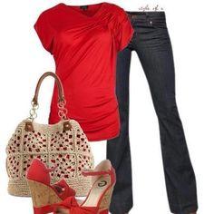 Adoro vermelho!