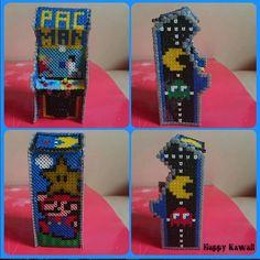 DIY 3D Arcade machine hama beads by Happy Kawaii