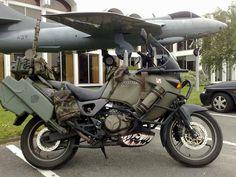 Diesel Army KLR 650