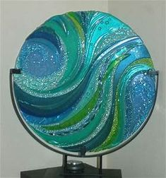 Jamie Kersey Designs - Other work | Fused glass wall art ...