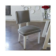 Como Side Chair $399 for captain chairs crate and barrel