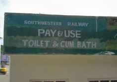 For orgies...contact Indian Railways.