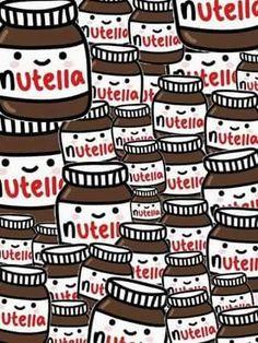 - Nutella Cute Pattern Soft Tpu Case Cover For Apple Iphone 6 7 8 Plus X Food Wallpaper, Wallpaper Backgrounds, Iphone Backgrounds, Cocoppa Wallpaper, Food Backgrounds, Iphone Wallpapers, Emoji Tumblr, Magic Secrets, Blackberry Q10