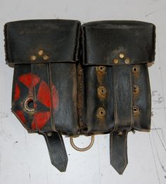 Image of Junker / Fig 3 368 Carbiner Pouch... apocalypse fashion, post-apocalyptic/dystopian fashion, clothing style, post-apocalypse accessories