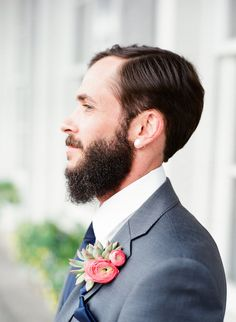 Beautiful Winter Wedding | The Happy Bloom Photography | Ivory & Beau Event Design | Bridal Musings Wedding Blog 5