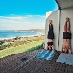 Morning yoga #yoga #apollobay #greatoceanroad #melbourne #seafarer #australia by voradech http://ift.tt/1LQi8GE