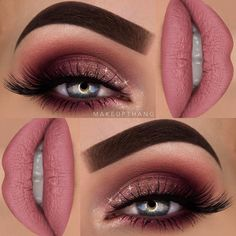 "5,242 Likes, 51 Comments - M A K E U P T H A N G (@makeupthang) on Instagram: ""Pink glitter dream  --- @anastasiabeverlyhills @norvina  Dipbrow Pomade ""Chocolate"", Modern…"""