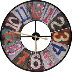 love this clock too but i think i can find a way to make something similar for my kitchen