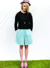 R/H SS13 Collection - Summer Moon Knit Blouse