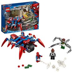 Doc Ock Superhero Playset with 3 Minifigures Spider-Man vs. Doc Ock Superhero Playset with 3 Minifigures Lego Spiderman, Lego Marvel's Avengers, Superhero, Shop Lego, Buy Lego, Lego Lego, Spider Girl, Game Of Thornes, Legos