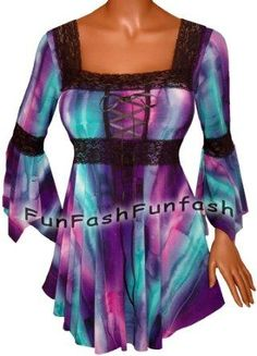 I found 'FUNFASH SLIMMING PURPLE EMPIRE WAIST CORSET TOP SHIRT NEW Plus Size Womens Made in USA' on Wish, check it out!