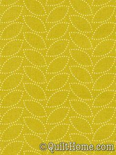 """Dotted Leaf - Lime"" by Denyse Schmidt"